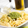 Stock Photo: Pastwith pesto
