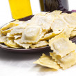 Homemade ravioli — Stock Photo