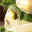 Balls on christmas tree — Stock Photo #16826665