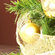 Balls on christmas tree — Stock Photo #16826795