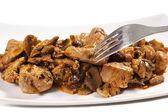 Beef bourguignon stew — Stockfoto