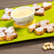 Foto Stock: San Valetin cookies
