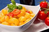 паста со свежими помидорами — Стоковое фото