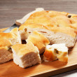 Stock Photo: Focaccia bread