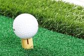 高尔夫球场球 — 图库照片