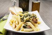 Pasta with cauliflower — Stock Photo