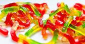 Gummy Worms — Stock Photo