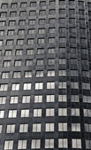 Black and White abstract building. — Foto de Stock