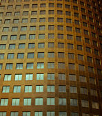 Vintage Styled Image of a gold building. — Stock Photo
