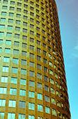 Vintage Gold Skyscraper — Stock Photo