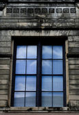 Reflection In Window — Stock Photo