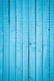 Sfondo di recinzione in legno verde acqua blu. — Foto Stock