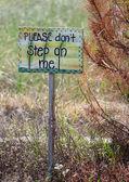 Nature Sign — Stock Photo