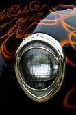 Roadster Headlight — Stock Photo