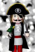 Pirate Nutcracker — Stock Photo