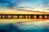 Reflection of Sunset — Stock Photo