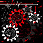 Techno medical concept background — Stock Vector #18344447
