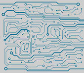 Computer circuit board — Vetorial Stock