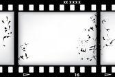 Vektorové pozadí filmu — Stock vektor