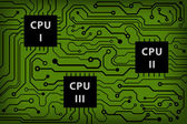 Abstract technology circuit board — Cтоковый вектор