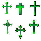 Cross vector illustration — Stock Vector