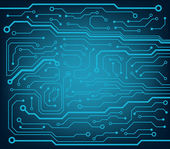 Abstract technology circuit board — Stock Vector
