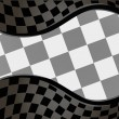 Royalty-Free Stock Vector Image: Vector checkered racing background. EPS10