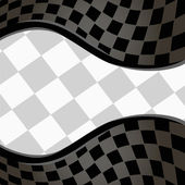 Vektor kariert racing hintergrund. eps10 — Stockvektor