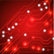 Techno circuit web banners. EPS10 vector illustration — Stock vektor