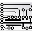 Techno circuit web banners. EPS10 vector illustration — Imagen vectorial