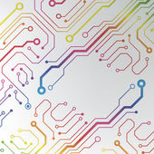 Circuit board background. eps10 vector illustration — Cтоковый вектор