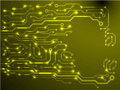 Circuit board background. eps10 vector illustration — 图库矢量图片