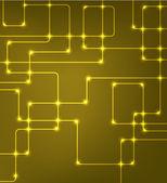 Futuristické eps10 vektor moderní hi-tech pozadím — Stock vektor