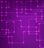 Futuristic EPS10 vector modern hi-tech glowing background — Stock Vector