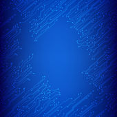 EPS10 vector circuit board background texture — Stock Vector