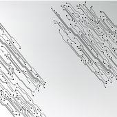 Trama di sfondo eps10 vettoriale circuito stampato — Vettoriale Stock
