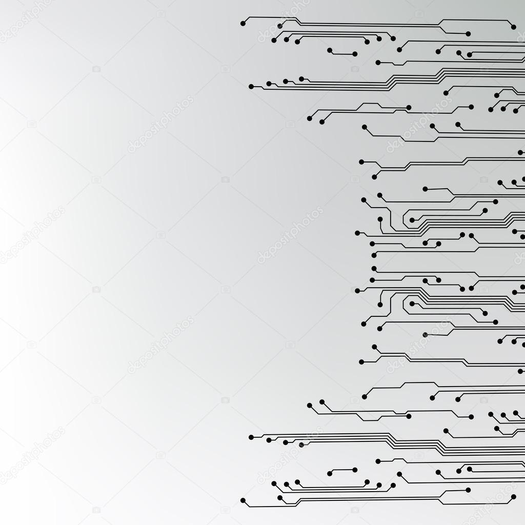矢量电路板背景纹理
