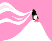 Beautiful Bride — Stock Vector