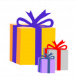 Stock Vector: Gifts for holidays