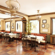 City Restaurant In Classic Style — Stock Photo #15526223