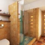 Bright Bathroom — Stock Photo #23221504