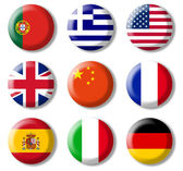 Foreign languages, symbols — Stock Photo
