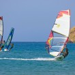 Windsurf at Prassonissi beach — Stock Photo #14436713