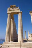 Acropolis of Lindos — Stock Photo