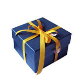 A colorful gift box — Stock Photo