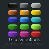 Internet buttons — Stock Photo
