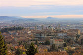 The picturesque old town of Bergamo — Stock Photo