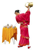 Tea ceremony in China — Stock Photo
