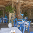 Stock Photo: Typical Greek taverna