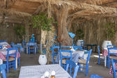 A typical Greek taverna — Stock Photo